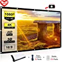 """Ylife 100"""" Projector Screen for Outdoor, Indoor Home Theater"""
