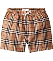 Burberry Kids - Galvin Check ACIMK Swimshorts (Infant/Toddler)