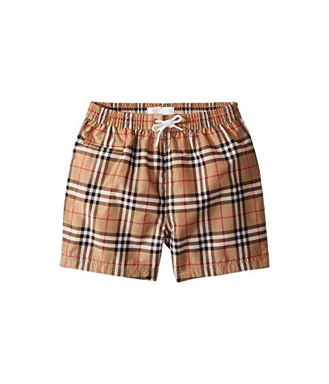 Burberry Kids Galvin Check ACIMK Swimshorts (Infant/Toddler)