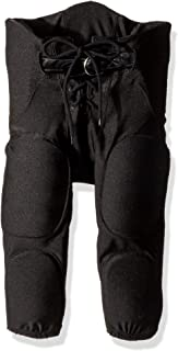 Intensity Boy's Integrated Football Pants with Belt,  Black,  Small