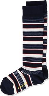 ESPRIT Kniestrümpfe Mixed Stripe Baumwolle Kinder schwarz blau viele weitere Farben verstärkte Kniesocken mit Muster atmungsaktiv lang bunt hoch und warm gestreift im Multipack 1 Paar