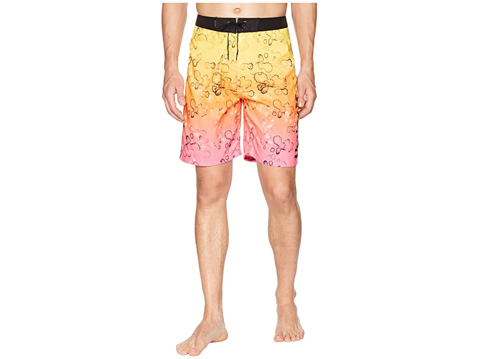 Hurley Splatter Grain 20 Boardshorts (Pink Blast) Men
