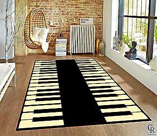 Champion Rugs Music Piano Keys Musical Studio Room Play Keyb