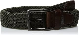 Men's G-Flex Woven Stretch Golf Belt, olive, 38
