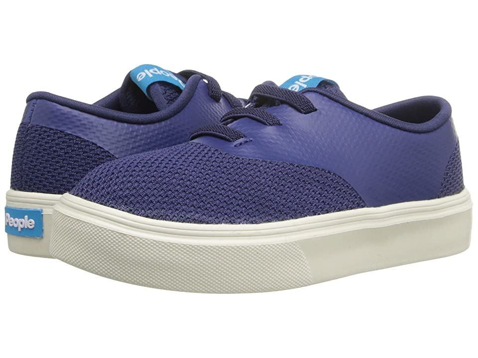 People Footwear Stanley (Toddler/Little Kid) (Mariner Blue/Picket White) Lace up casual Shoes
