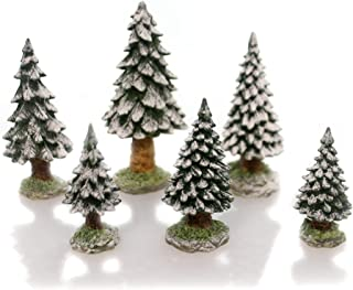 Department 56 Snowy Evergreens St of 6 Small