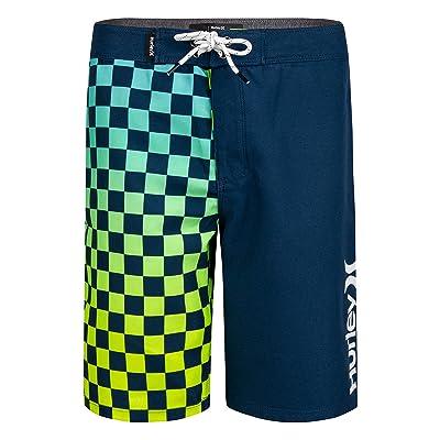 Hurley Kids Checker Print Boardshorts (Big Kids)