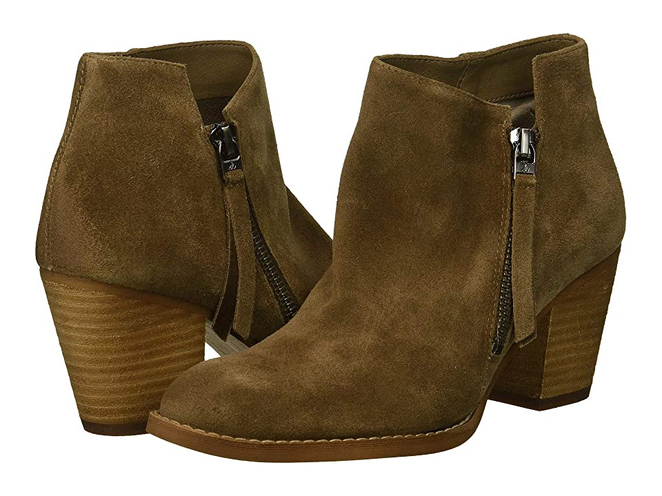 Sam Edelman Macon (Dark Taupe Velutto Suede Leather) Women