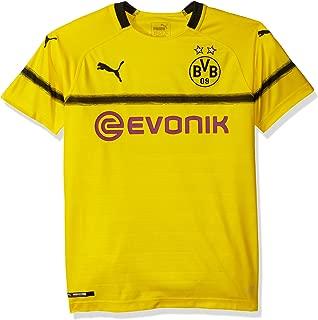 PUMA Men's Standard BVB Cup Shirt Replica Jr with Evonik Logo