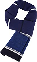Men's Winter Wool Scarf Warm Extra Long Fleece Scarf