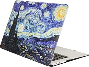 MacBook Pro 15 Inch Case with Retina Display (NO CD-ROM Drive),FUNUT Fancy Hard Case Folio Protective Skin Smooth Plastic Case Cover for Model A1398 Retina 15 Inches (Starry Night)