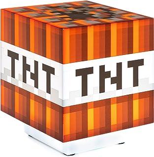 Paladone Minecraft TNT Licht mit Ton - Offiziell lizenziert