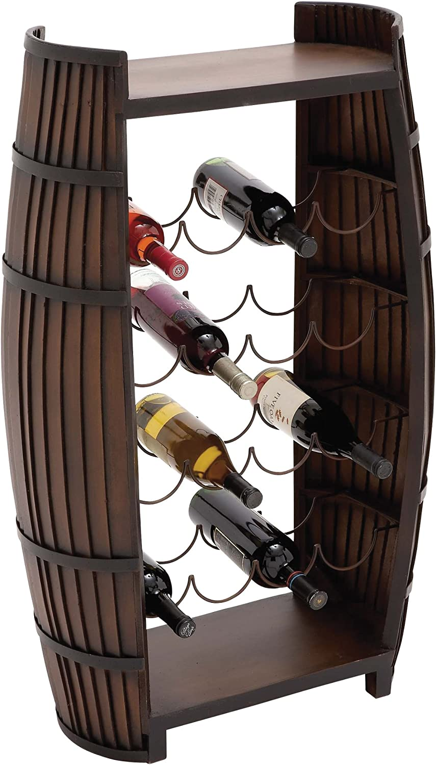 Plutus Brands The Polished Ranking TOP2 Al sold out. Rack Wine Metal Wood