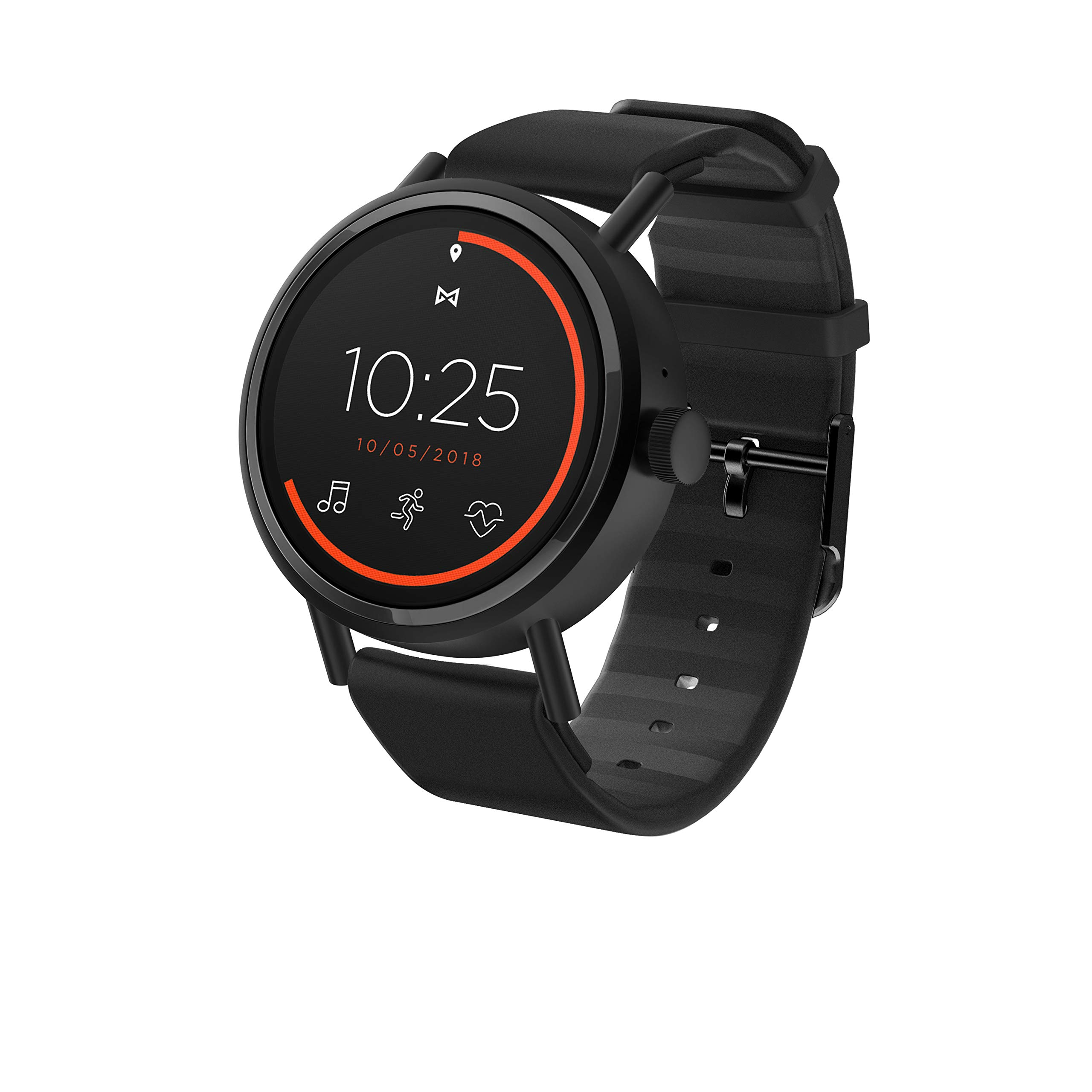 Misfit Stainless Silicone Touchscreen Smartwatch