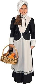 Forum Novelties Pilgrim Girl Costume, Child's Small