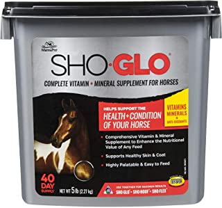 Manna Pro 5 lb Sho-Glo Supplement for Horse, Small