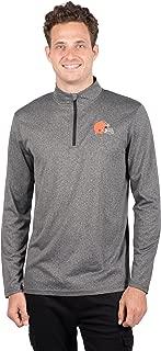 Ultra Game  NFL Men's Quarter-Zip Pullover Active Performance Shirt