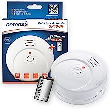 Nemaxx SP10-NF Rookmelder met 9V-lithiumbatterij DIN EN14604