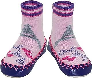 Konfetti Ooh La La Slipper Sock Swedish Moccasin