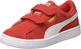 official photos 77892 bbaa8 Puma Unisex Kids  Suede 2 Straps Ps Low-Top Sneakers