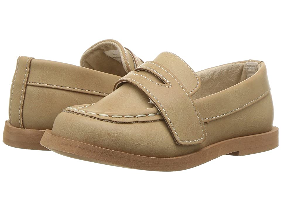 Baby Deer First Steps Loafer (Infant/Toddler) (Tan) Boy