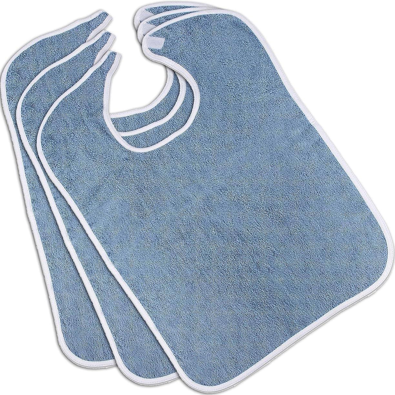 聴覚例外女性Utopiaタオル100?%コットンテリー大人用よだれかけお手入れ簡単、保護服、リングスパンコットンの柔らかさと吸収性