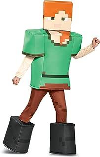 Alex Prestige Minecraft Costume, Multicolor, Medium (7-8)