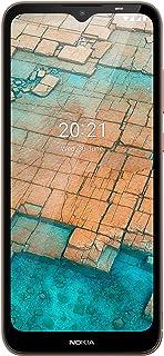 هاتف ذكي نوكيا سي 20 بذاكرة 32 + 2 جيجا من الجيل الرابع، كيه اس ايه ارابيك لون ازرق، TA-1352