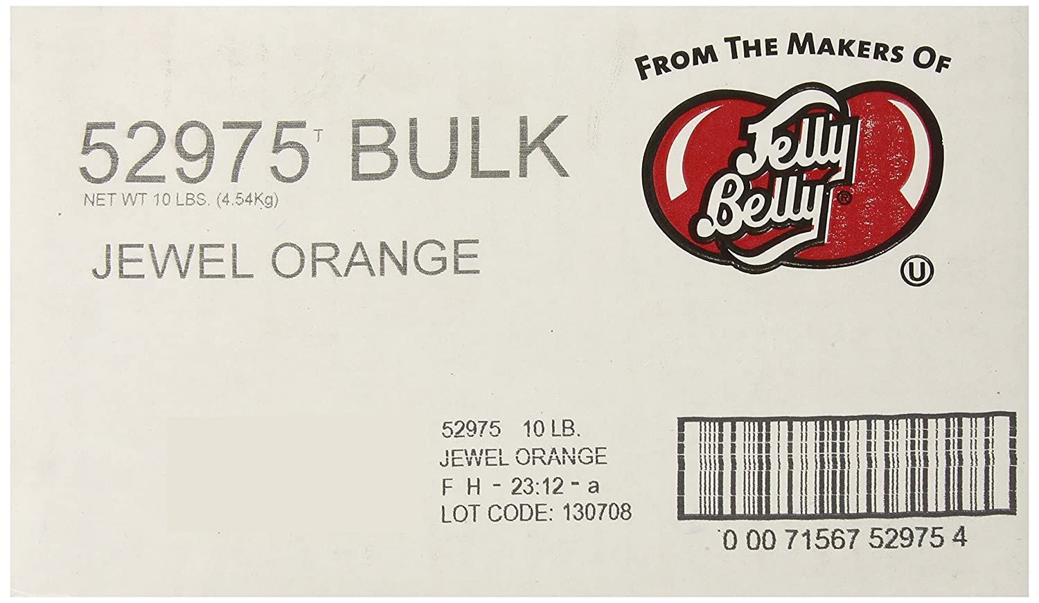 Jelly Belly Jewel Orange Beans - Max 78% OFF low-pricing Loose Pounds of Bulk 10 J