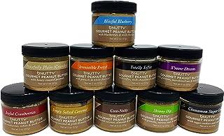 bNutty Gourmet Peanut Butter - Assorted Flavors - Gluten Free - Natural Peanut Butter - Made in USA - 2oz Jars - 10 Jar Gi...