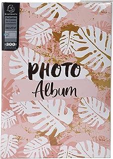 Exacompta - Réf. 62223E - Album photos à pochettes PASTEL TROPIC - 300 photos 10x15 cm - 100 pages - Format 22,5x32,5 cm -...