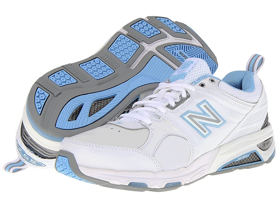 New Balance WX857 (White/Blue) Women