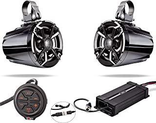 NOAM NUTV5 - Marine Bluetooth ATV/Golf Cart/UTV Speakers Stereo System
