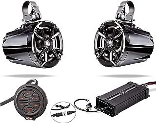 NOAM NUTV5 - Marine Bluetooth ATV/Golf Cart/UTV Speakers Stereo System