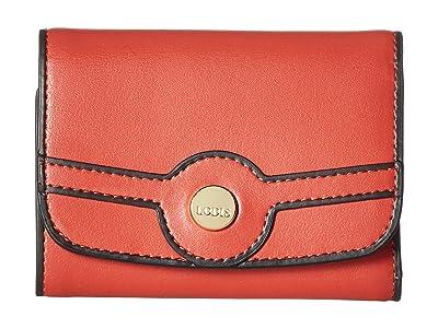 Lodis Accessories Rodeo RFID Mallory French Purse (Brick) Handbags