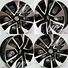 New 16 Inch Alloy Wheels Rims compatible with 2013-2015 Honda Civic (16x6.5 / Hub Bore: 64.1 / Bolt Pattern: 5x114.3 /Offset of 45 mm) - Set of 4 PCS ALY64054U45N