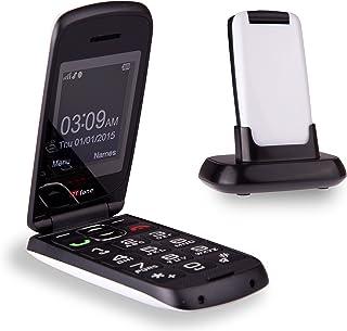 TTfone Star TT300 Big Button Simple Senior Easy To Use Clamshell Flip Mobile Phone