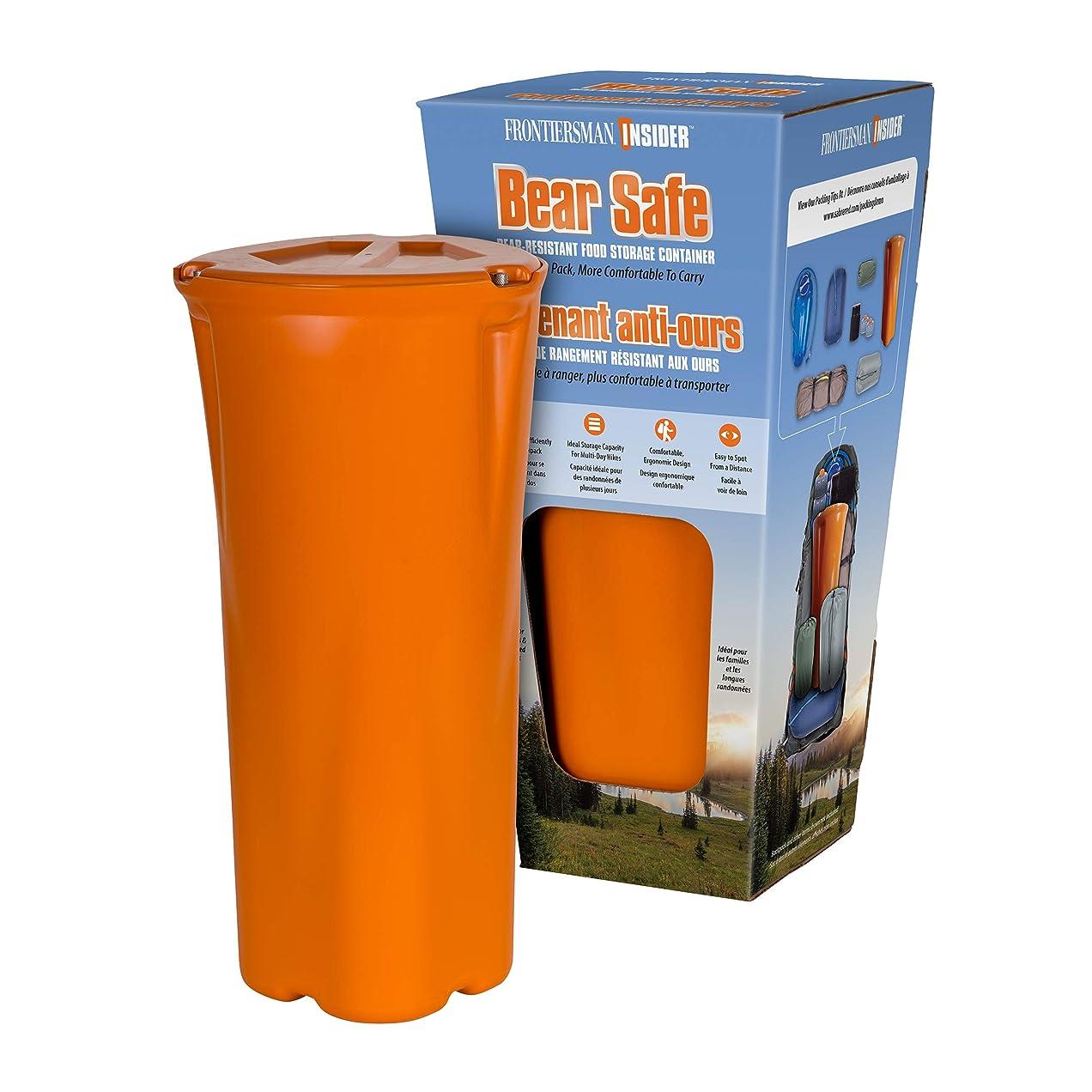 木曜日塩辛いベリーFRONTIERSMAN INSIDER - The New Shape in Bear-Proof Food Storage – Slim Ergonomic Design with High Capacity Storage - Easier To Pack, More Comfortable to Carry