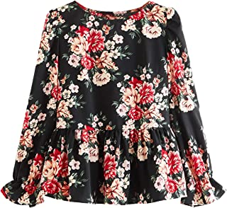 Best floral ruffle blouse Reviews