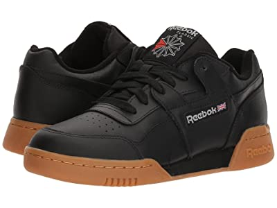 Reebok Lifestyle Workout Plus (Black/Carbon/Classic Red/Reebok Royal/Gum) Men
