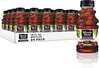 Minute Maid 100% Mixed Berry Juice, 10 fl oz bottles, Pack of 24