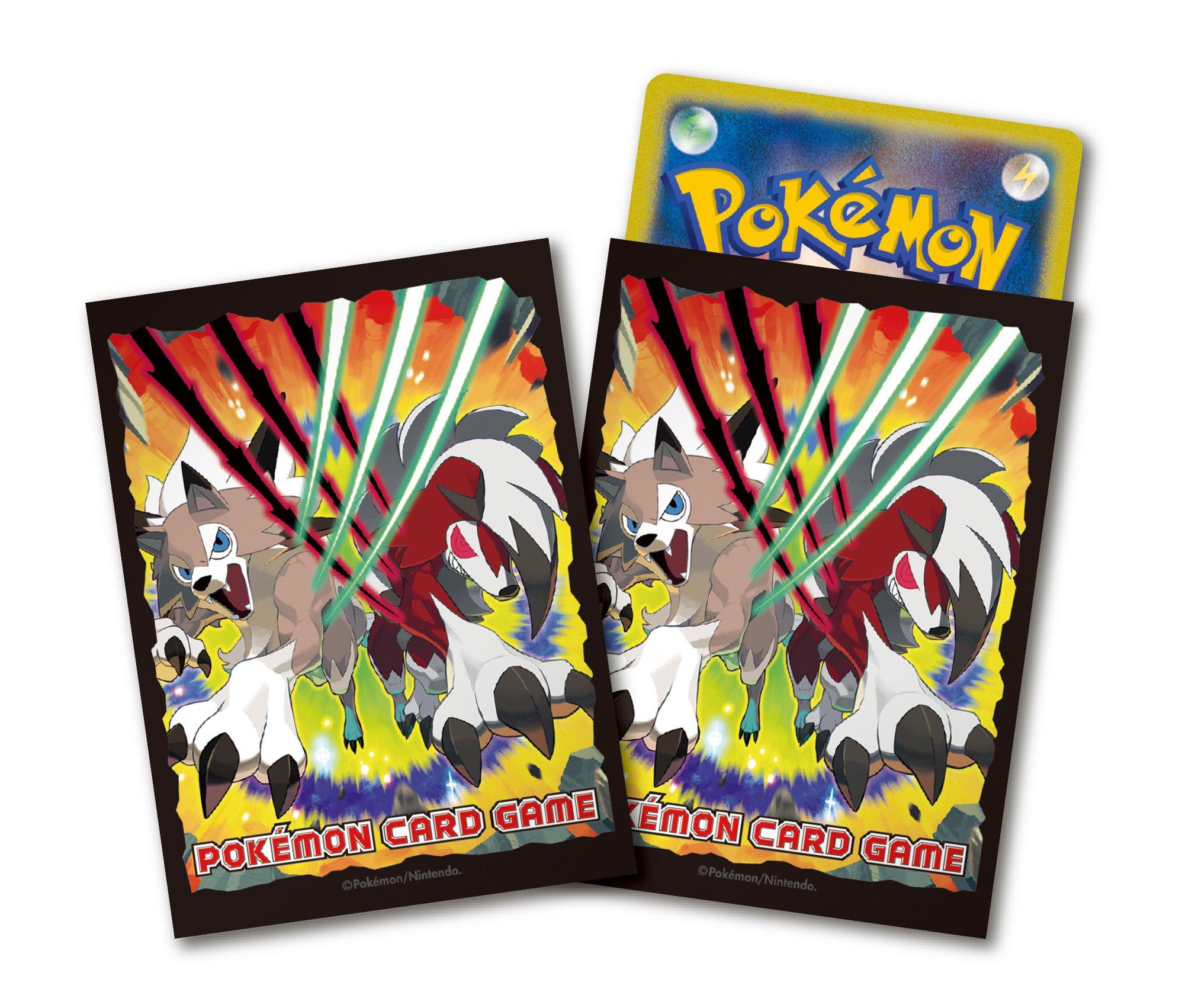 Pokèmon Juego de Cartas Escudo Cubierta Rugarugan: Amazon.es: Juguetes y juegos