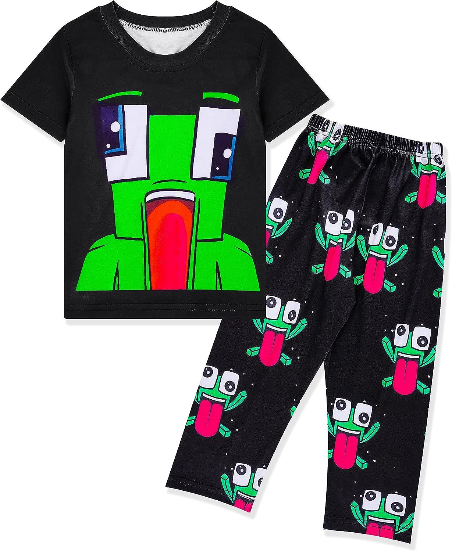 Boys Summer Clothing Set Short Sleeves for All Seasons Casual...