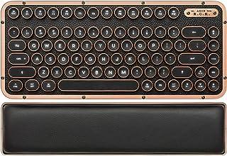 AZIO Retro Compact Keyboard (Artisan) - Luxury Vintage Backl