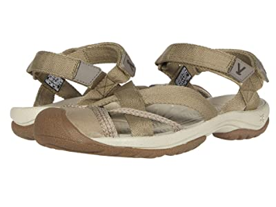 Keen Kira Ankle Strap (Taupe) Women