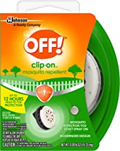 OFF! Clip-On Mosquito Repellent 0.0016 oz, Pack of 6