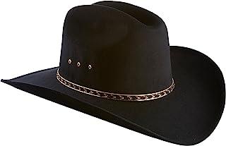 Amazon.com  Blacks - Cowboy Hats   Hats   Caps  Clothing df56de599e9
