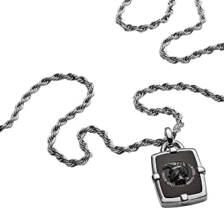Diesel Men's Stainless Steel Pendant Necklace, DX1174040
