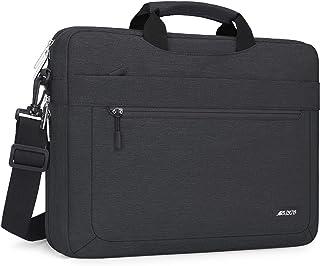 MOSISO Funda Protectora Compatible con MacBook Pro 16 A2141/15-15.6 Mac Pro Retina A1398/Portátil,Bolsa de Hombro Blanda M...