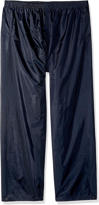 Portwest Men Waterproof Elastic Waist Pockets Water Resistant Breathable Trouser